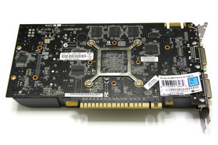 GeForce GTS 450 FTW Rückseite