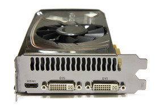 GeForce GTS 450 FTW Slotblech