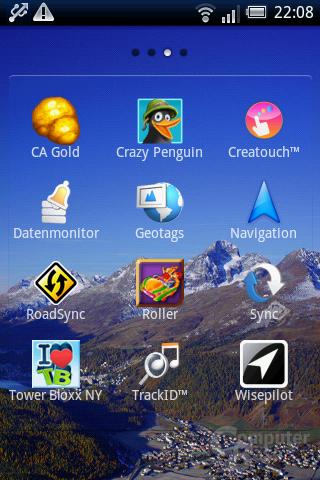 Xperia X8: App-Liste (3)