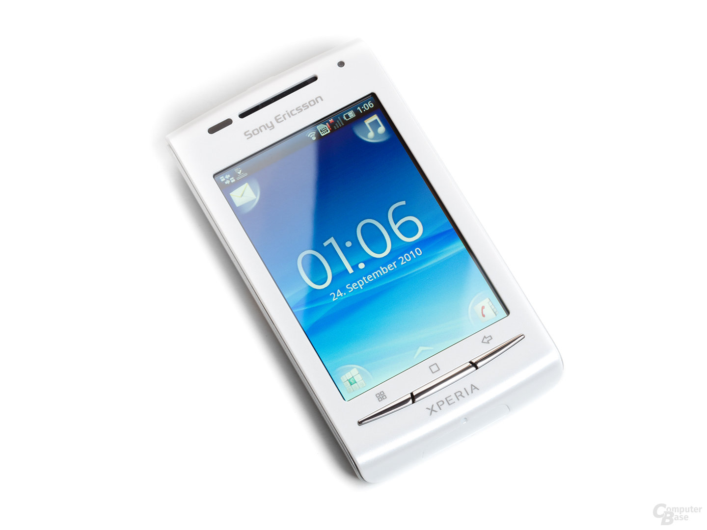 sony ericsson xperia x8 im test android smartphone f r. Black Bedroom Furniture Sets. Home Design Ideas