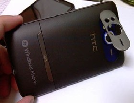 HTC HD3/HD7: Rückseite