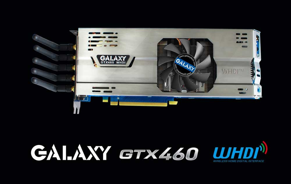 Galaxy GeForce GTX 460 WHDI Edition