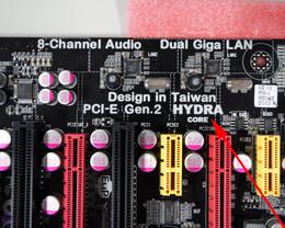 ECS P67H2-A final soll es ein Hydra-Chip werden