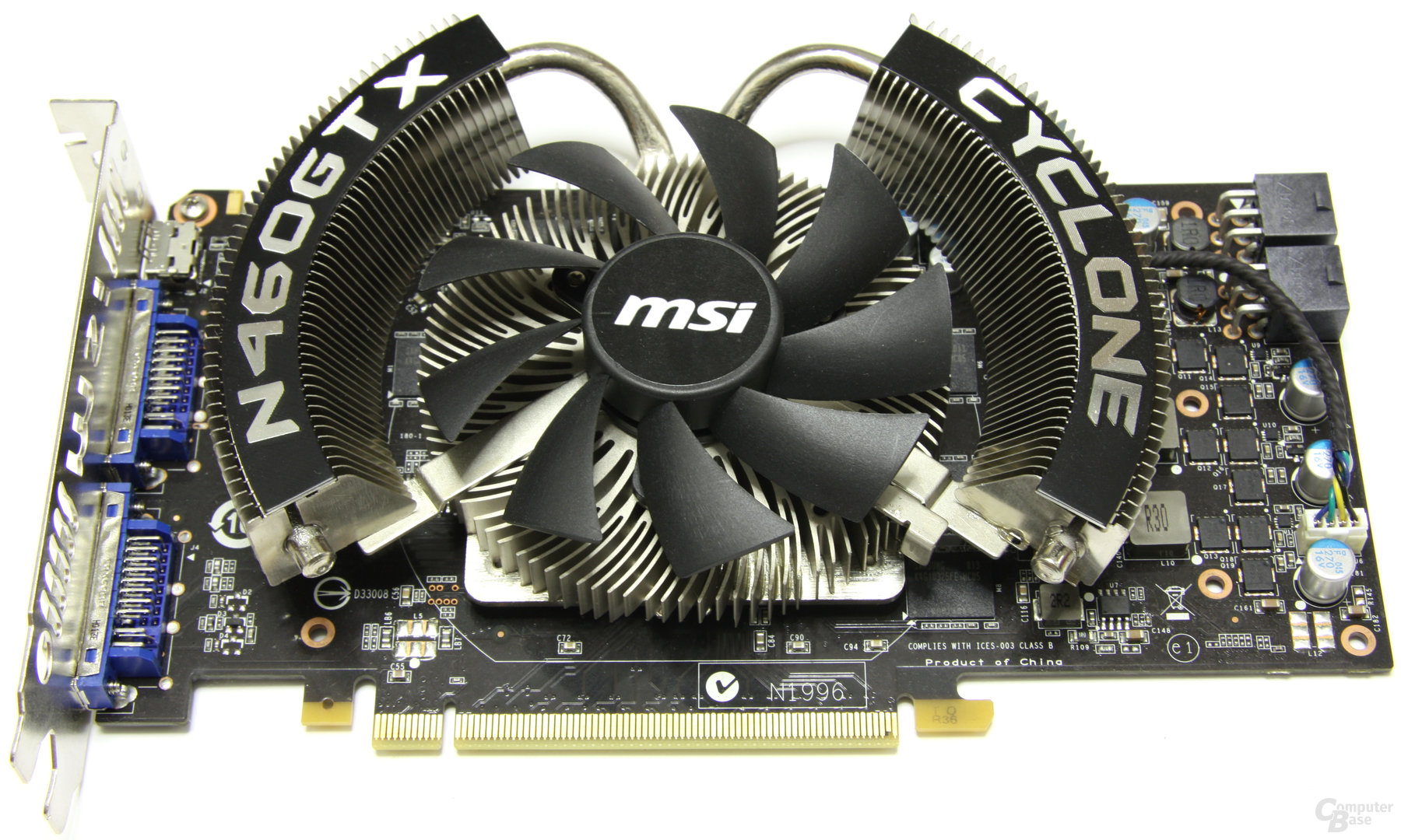 MSI GeForce GTX 460 Cyclone OC