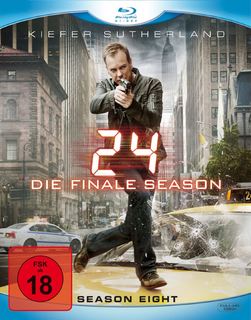 24 Staffel 8 Blu-ray