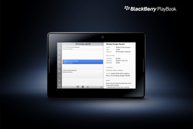 BlackBerry PlayBook: Kalender