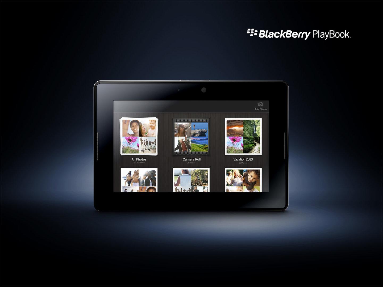 BlackBerry PlayBook: Gallerie