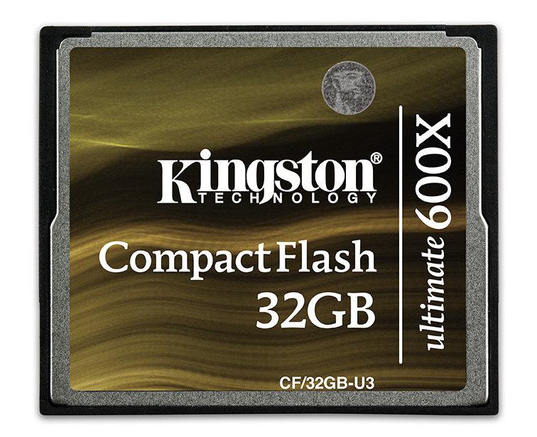 Kingston CompactFlash Ultimate 600X 32 GB