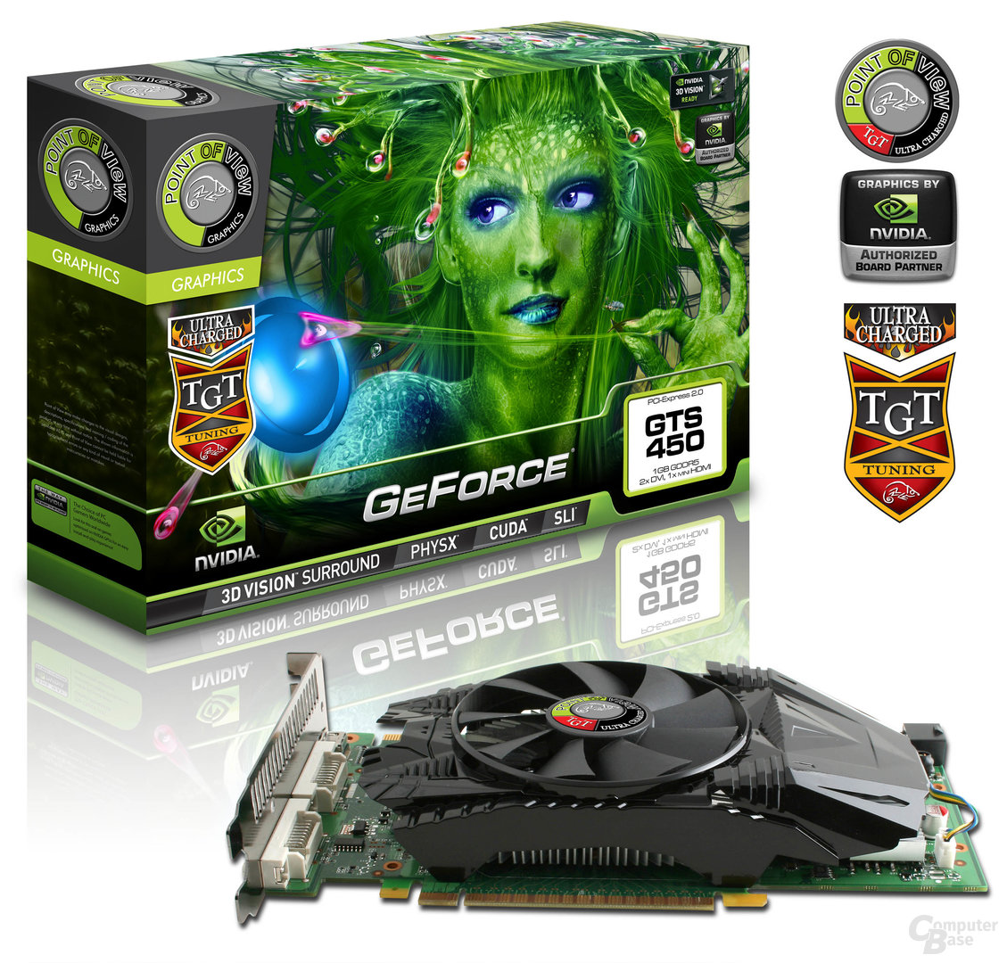 POV/TGT GeForce GTS 450 Ultra Charged