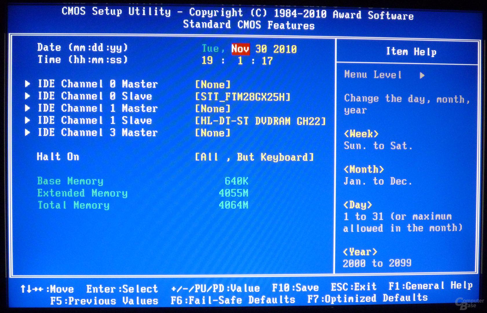 Gigabyte H55N-USB3 – BIOS