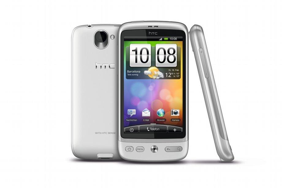 HTC Desire Brillant-Weiß