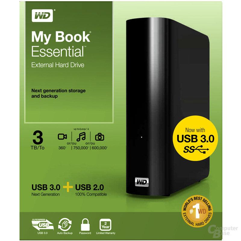 WD My Book Essential (USB 3.0) 3 TB