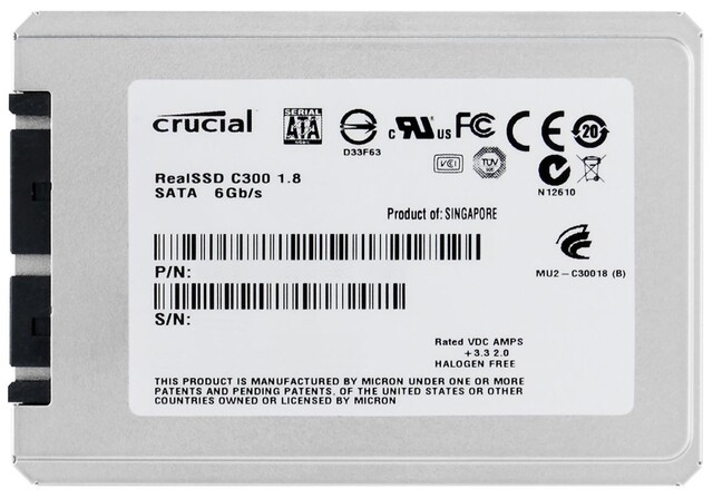 Crucial RealSSD C300 1,8 Zoll