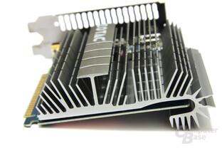 GeForce GT 430 Zone Edition von hinten
