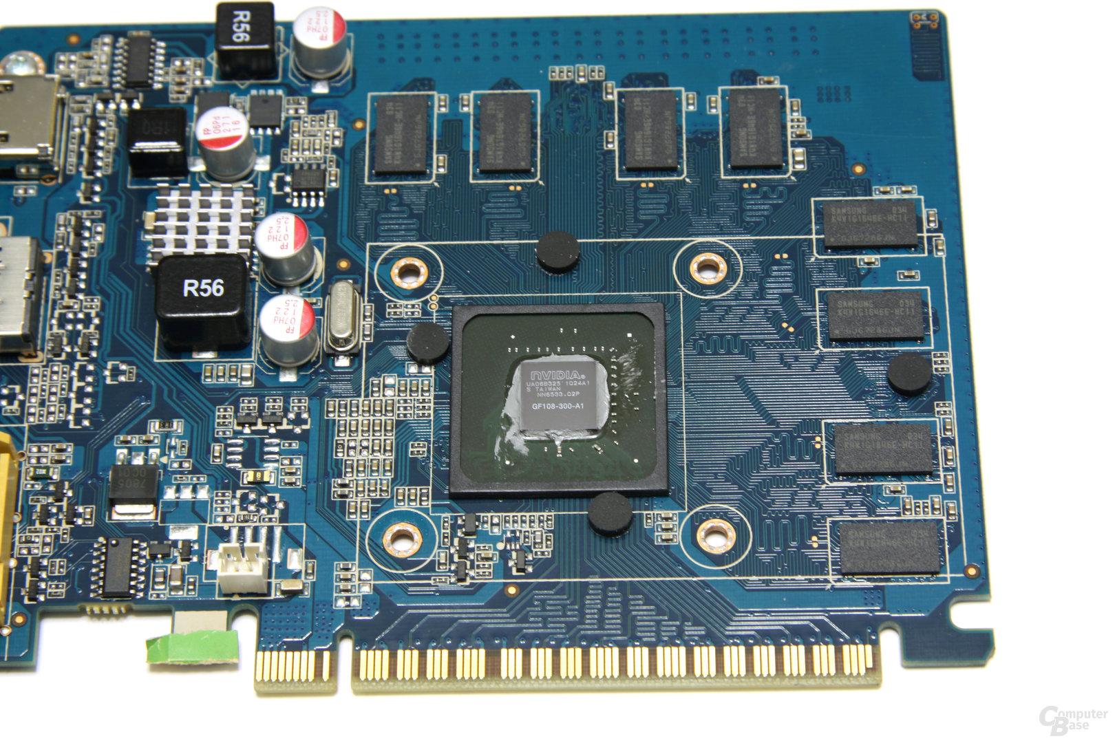 GeForce GT 430 Zone Edition GPU und Speicher