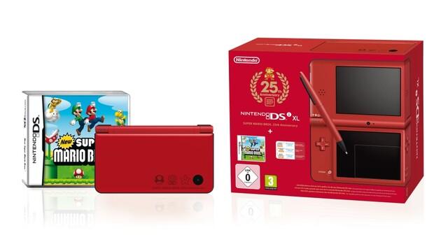 Mario-Jubiläums-Edition mit rotem DSi XL