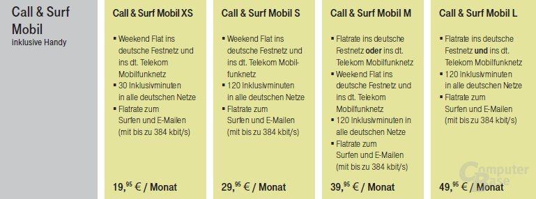 Call & Surf Mobil