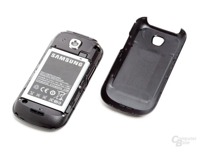 Akku-Schacht beim Galaxy 3