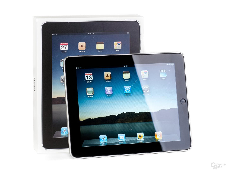 Hochwertig dank Alu-Schale: Apple iPad (hier das Modell ohne 3G-Unterstützung)