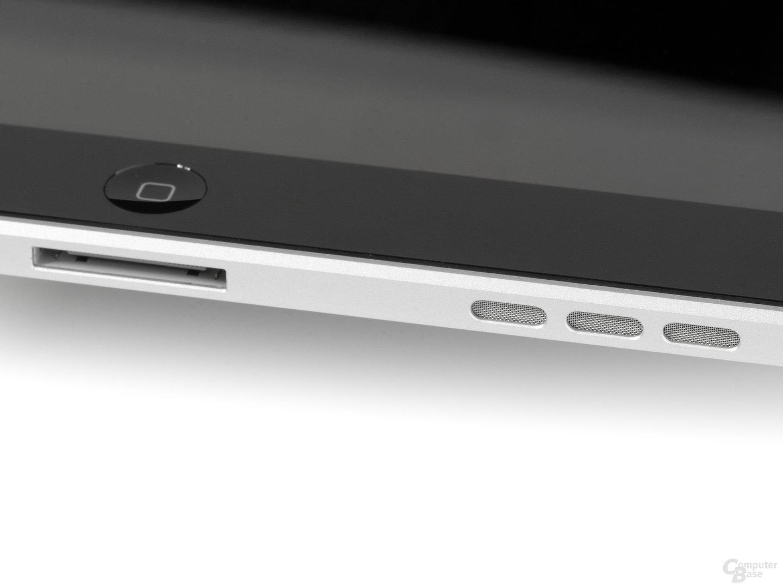 iPad von der Seite (Ausschnitt)