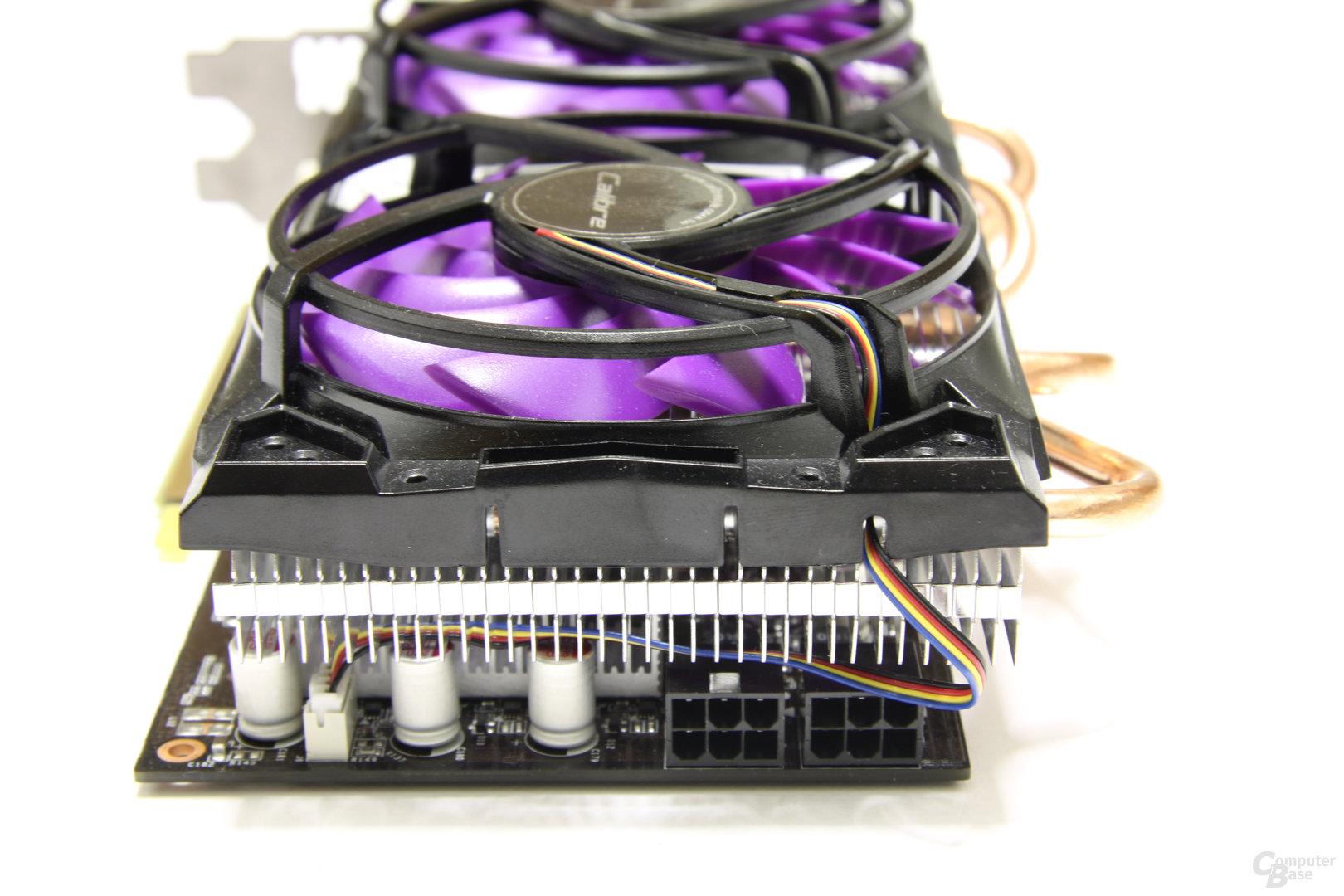 Calibre GTX 460 von hinten