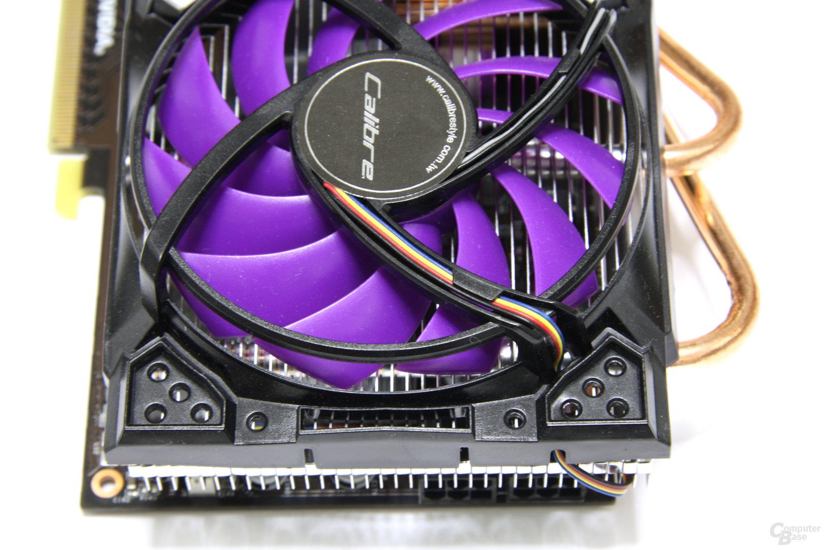 Calibre GTX 460 von oben