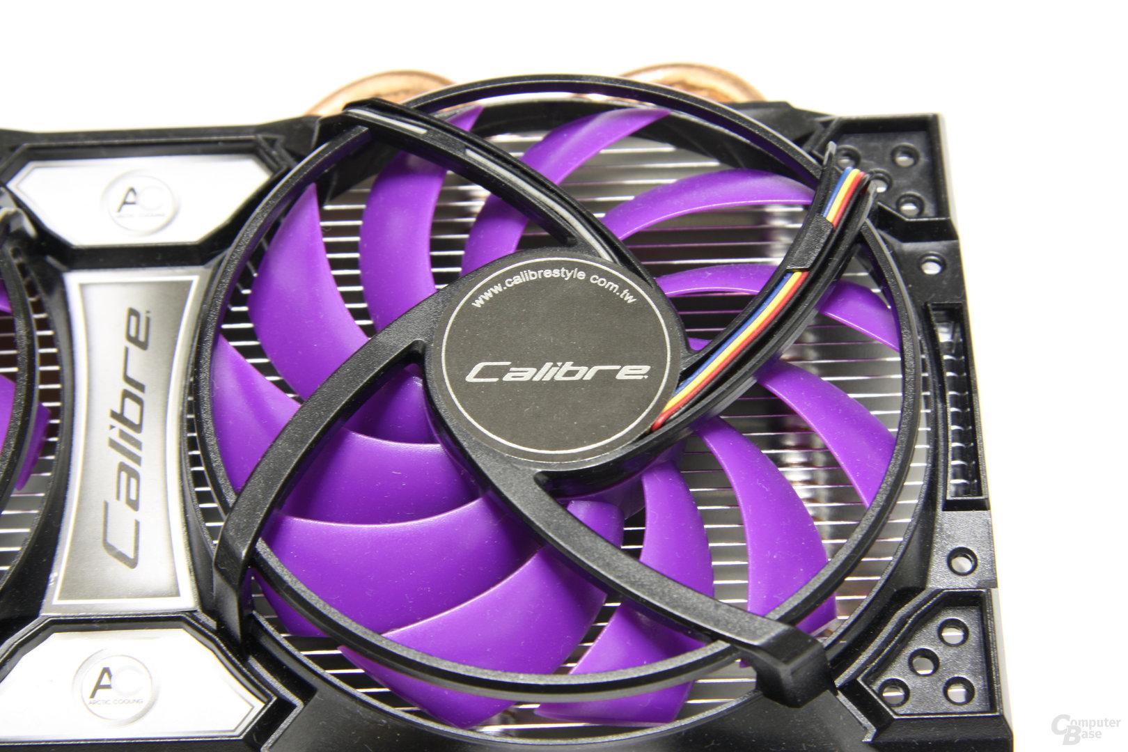 Calibre GTX 460 Lüfter