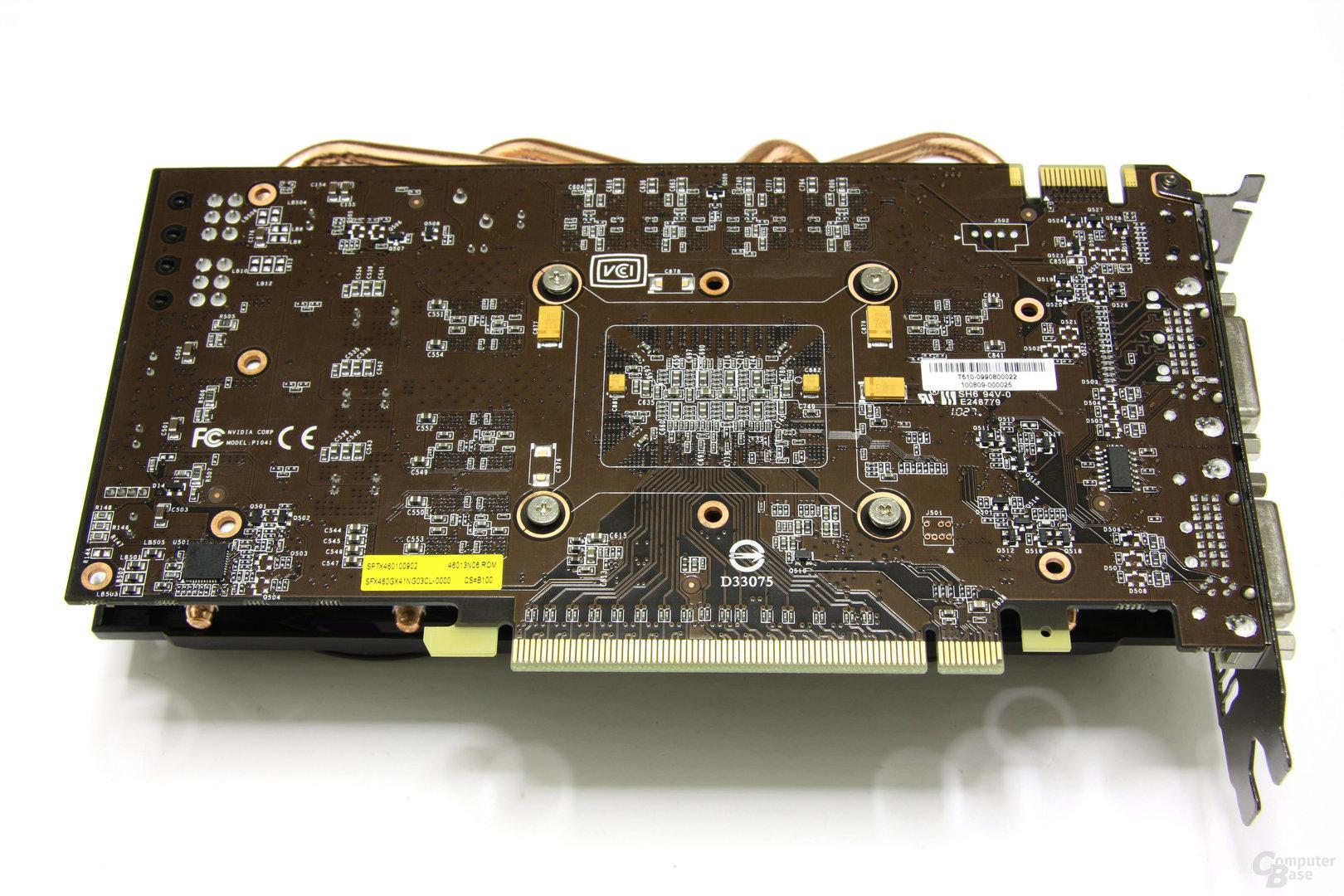 Calibre GTX 460 Rückseite