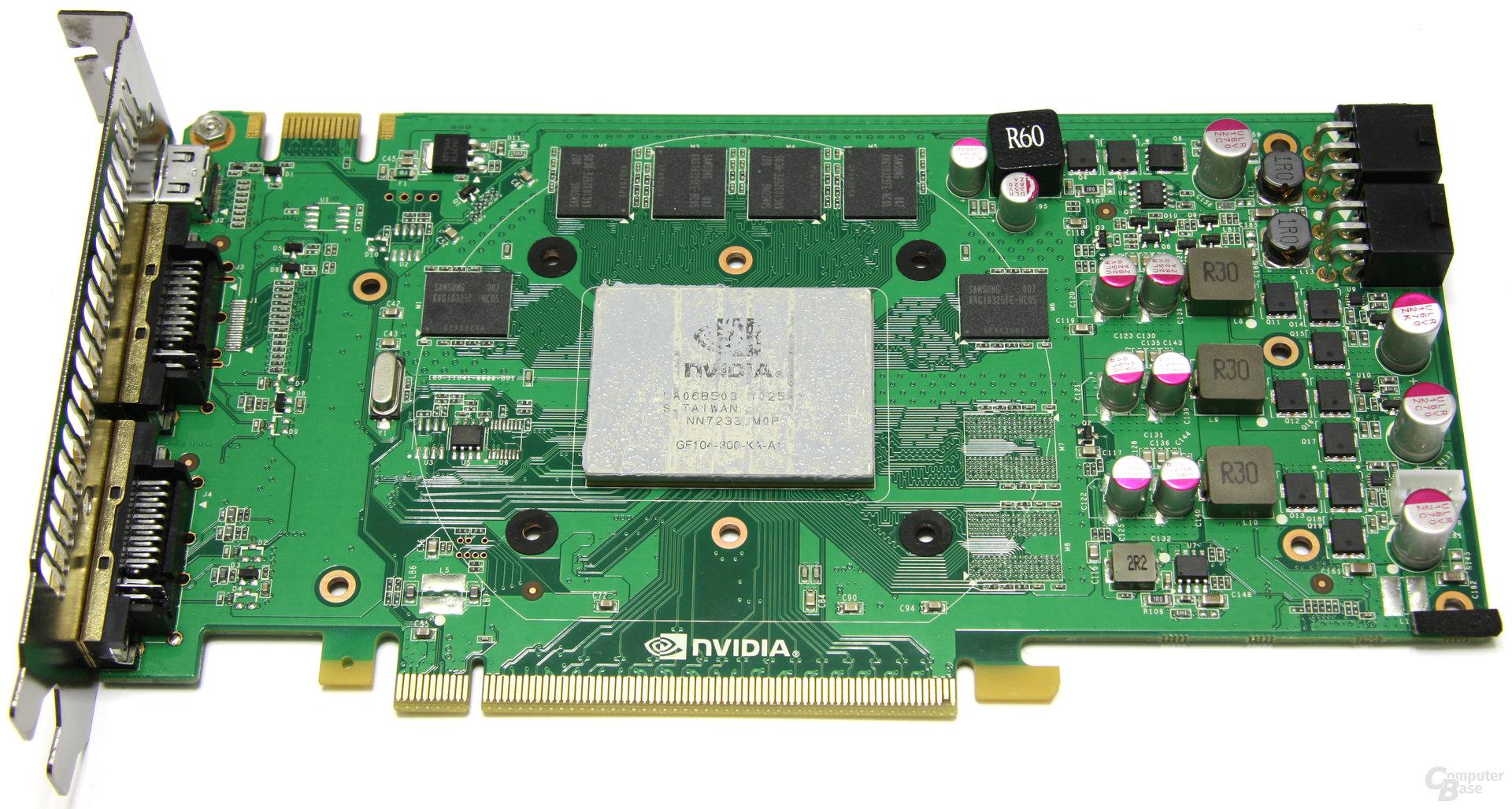 GeForce GTX 460 OC ohne Kühler