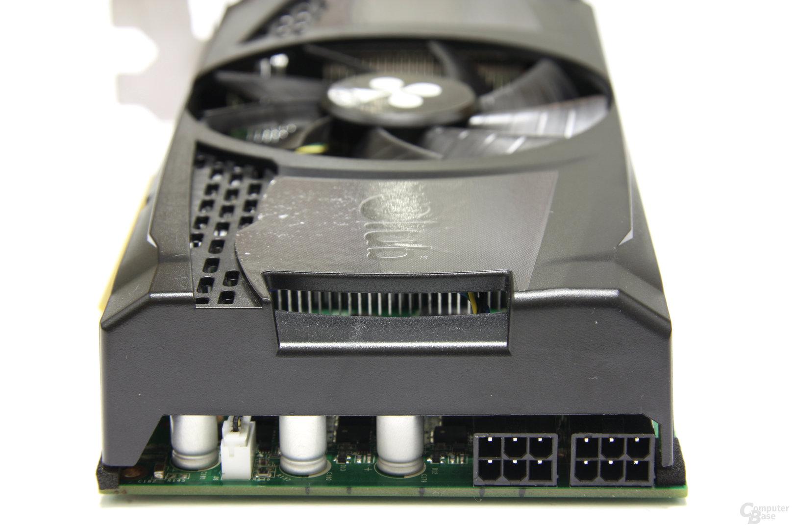 GeForce GTX 460 OC von hinten