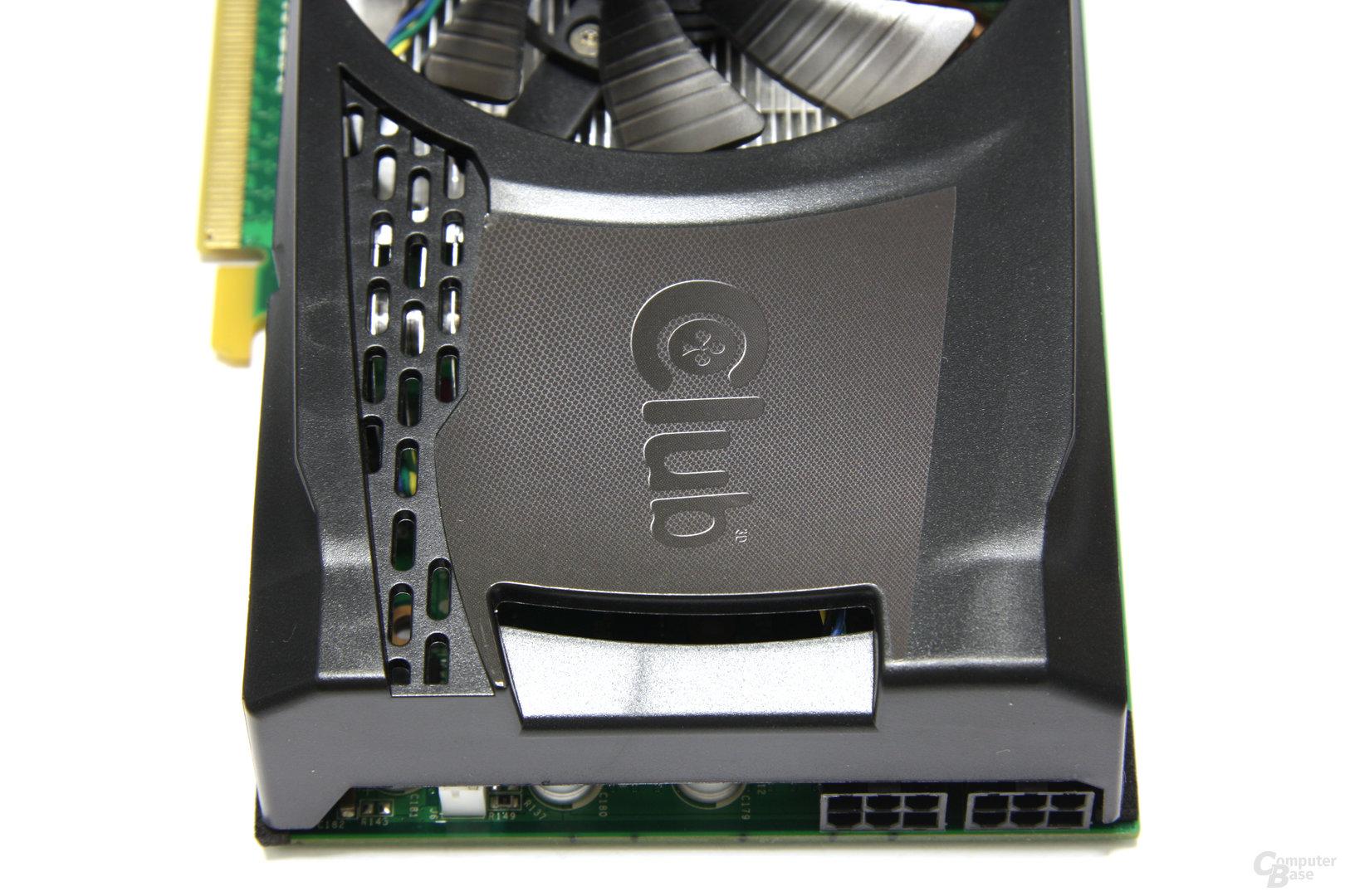 GeForce GTX 460 OC von oben