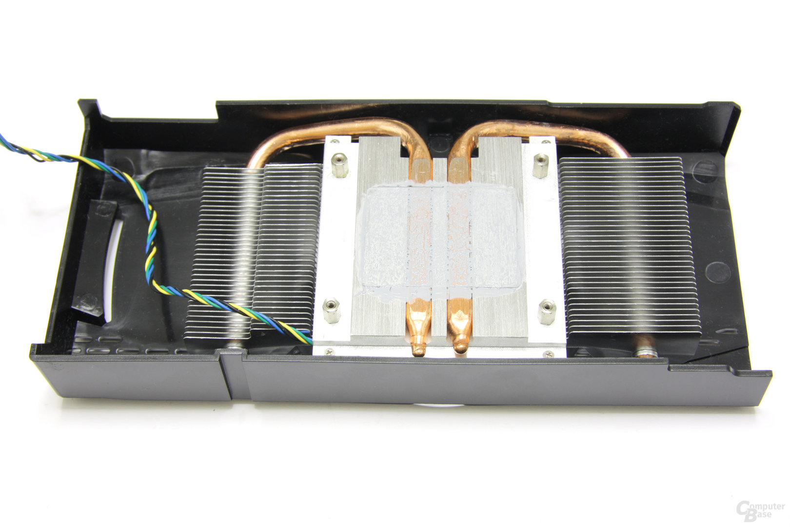 GeForce GTX 460 OC Kühlerrückseite