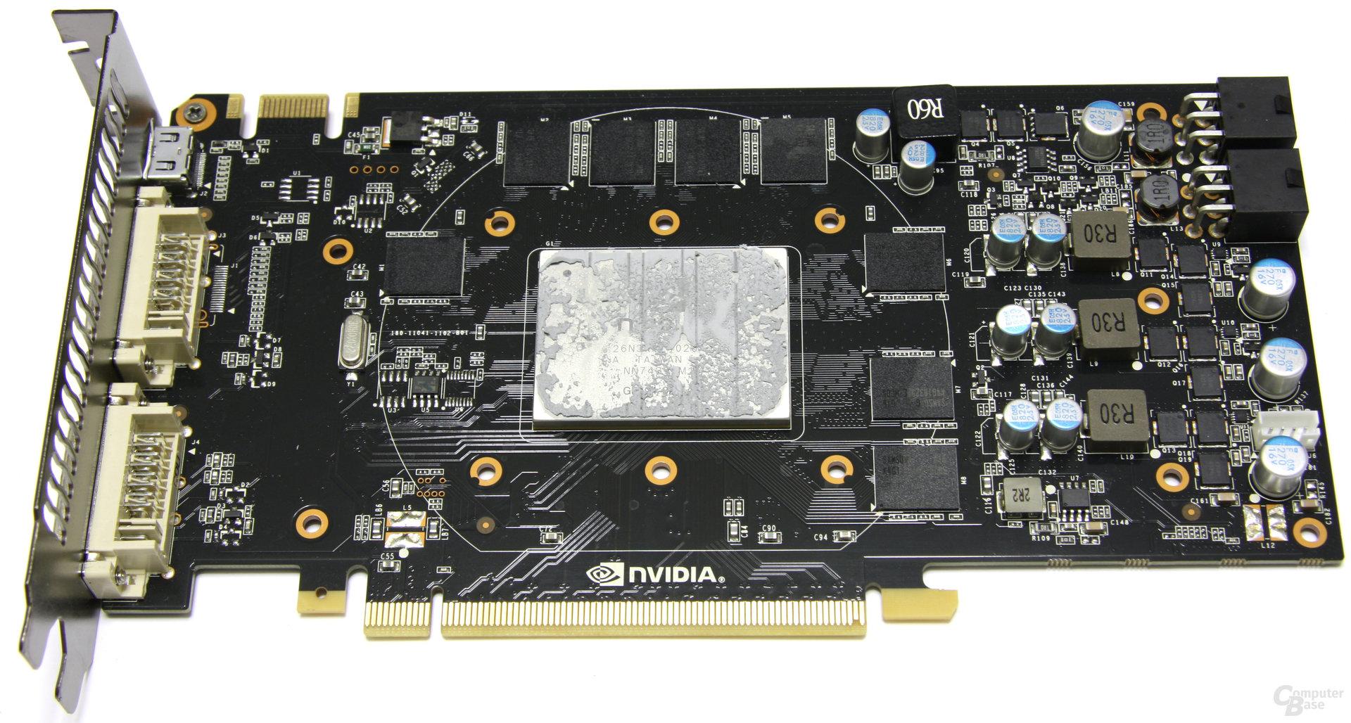 GeForce GTX 460 SC EE ohne Kühler
