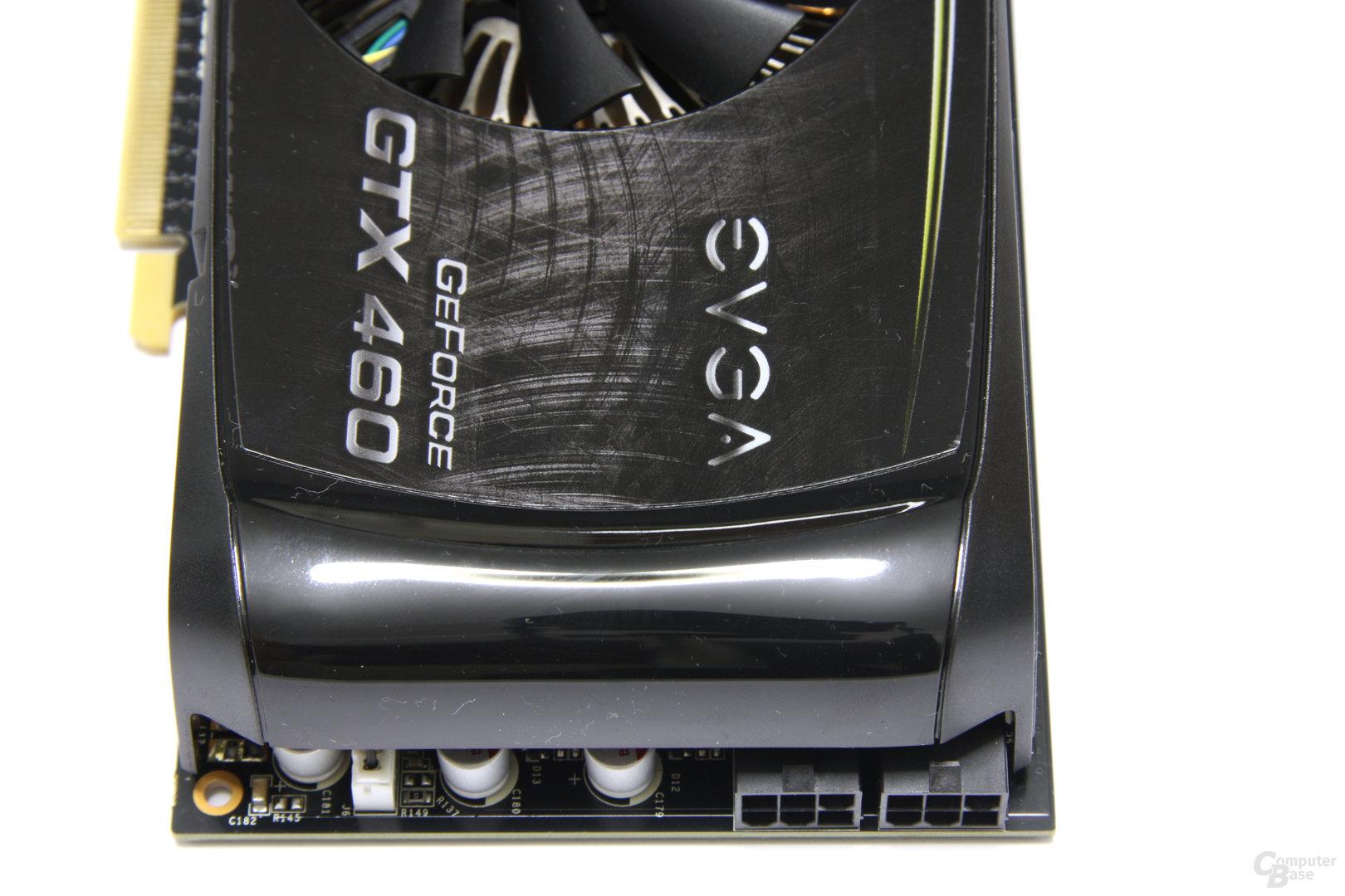 GeForce GTX 460 FTW von oben