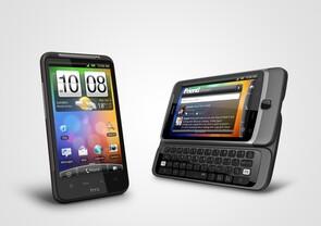 HTC Desire HD & Desire Z