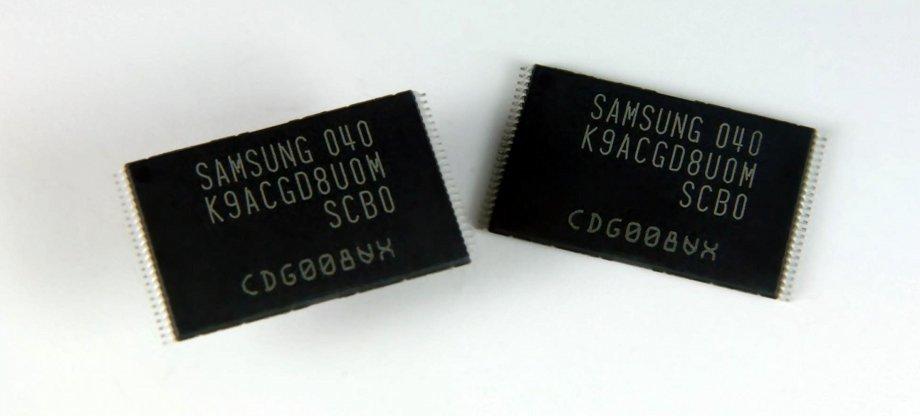 64-Gbit-Chips der 20-nm-Klasse mit 3-Bit-Zellen von Samsung