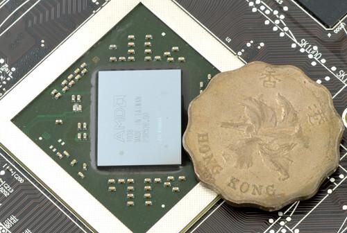 """Barts XT""-GPU der Radeon HD 6870"