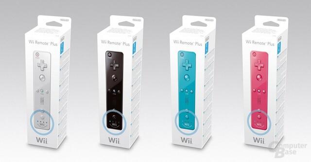 Wii-Fernbedienung Plus