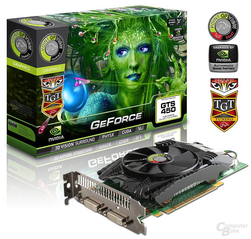 "PoV/TGT GeForce GTS 450 ""BEAST"""