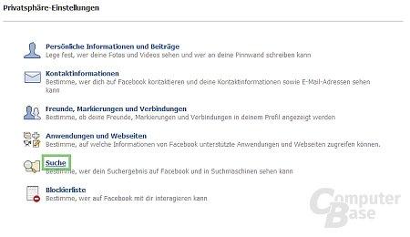 "Facebook ""privat"""