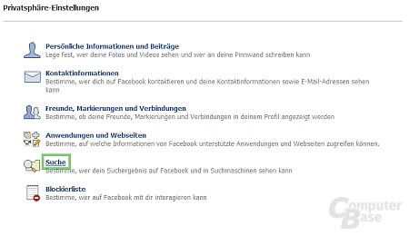 "Facebook ""privat"""