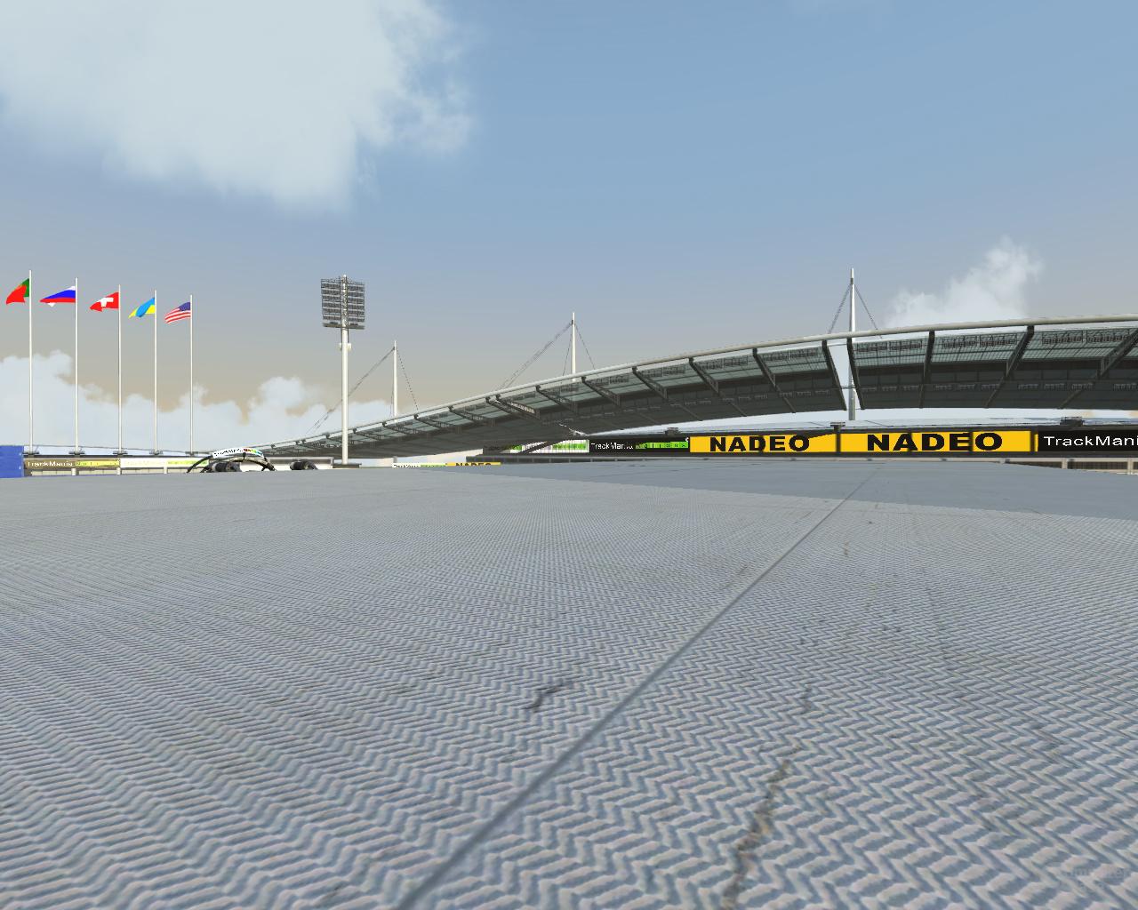 Nvidia GF100 Trackmania - 16xAF