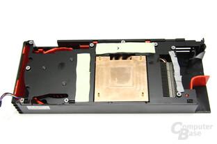 Radeon HD 6870 Kühlerrückseite