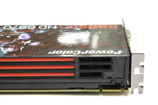 Radeon HD 6870 Lufteinlass
