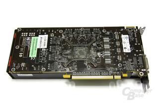 Radeon HD 6870 Rückseite