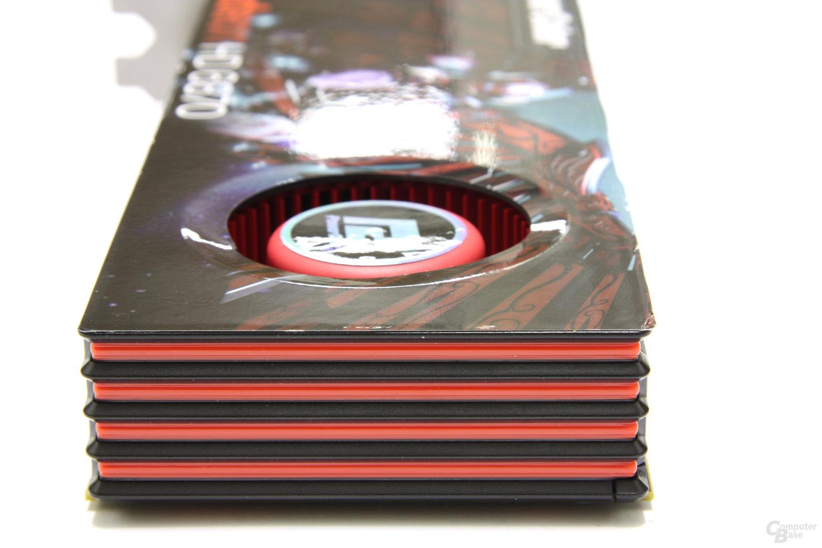 Radeon HD 6870 von hinten