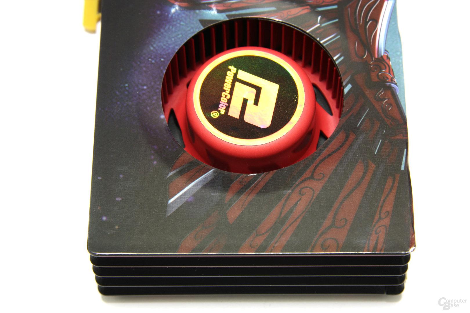 Radeon HD 6870 von oben