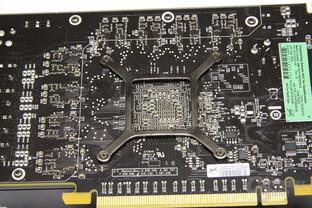 Radeon HD 6850 GPU-Rückseite