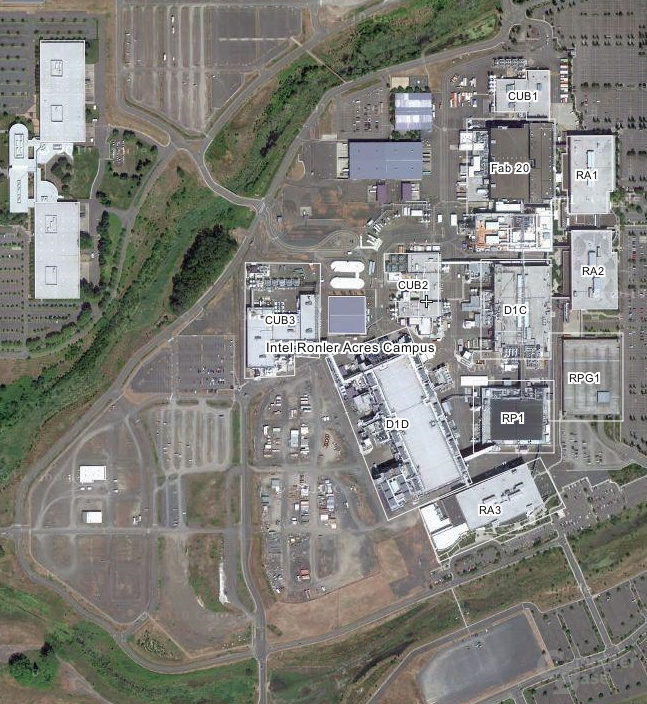 Intel-Campus Oregon
