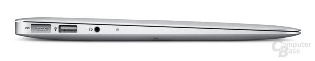 MacBook Air: 11,6-Zoll-Modell von der Seite